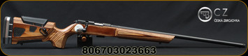 "CZ - 22LR - 457 Varmint AT-ONE - Brown Laminate Adjustable Boyd's Stock/Blued, 24"" Threaded Barrel, 5 Round Detachable Magazine, Mfg# 02366"