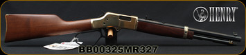 "Henry - 327Mag- Big Boy Classic - Lever Action Carbine - American Walnut Stock/Brass Receiver/Blued, 16.5""Octagonal Barrel, 7 Round tubular magazine, Mfg# H006MR327, S/N BB00325MR327"