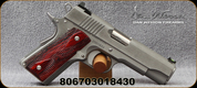 """Dan Wesson - 45ACP - Pointman Carry - Single Action - Wood Grip/Stainless Slide, 4.25""""Barrel, (2)7 round magazines, Mfg# 01843"""