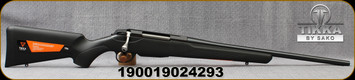 "Tikka - 243Win - T3x Compact Lite - Bolt Action Rifle - Black Modular Synthetic Stock/Blued, 20""Barrel, 3 round detachable magazine, Mfg# TF1T15JL103"