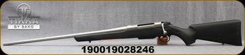 "Tikka - 270Win - T3X Lite - LH - Bolt Action Rifle - Black Modular Synthetic Stock/Stainless, 24.3""Barrel, 3 round detachable magazine, Mfg# TFTT70LL113"