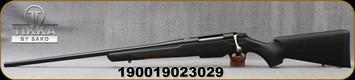 "Tikka - 270WSM - T3X Lite - LH - Bolt Action Rifle - Black Modular Synthetic Stock/Stainless, 24.3""Barrel, 3 round detachable magazine, Mfg# TF1T70LL113"