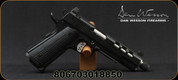 "Dan Wesson - 45ACP - Discretion Commander 1911 - Semi Auto Pistol - G10 Grips/Black Duty Finish, 5.75"" Threaded Barrel, Ported Slide, (2)8 Round Magazines, Suppressor Height Night Sights, Mfg# 01885"