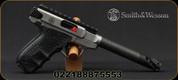 "Smith &Wesson - 22LR - PC 22 Victory Carbon Fiber Dot - Semi-Auto Target Pistol - Carbon Fiber 6""Barrel, c/w Pistol rug & Vortex Viper Red Dot, Mfg# 12081"