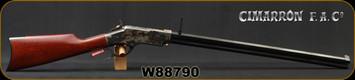 "Cimarron - Uberti - 44-40Win - 1860 Henry Steel Frame - Walnut Stock/Case Hardened Steel Frame/Blued, 24"" Barrel, 12 round capacity, Mfg# CA237, S/N W88790"