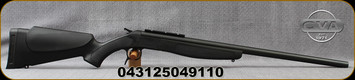 "CVA - 35Whelen - Scout - Single Shot Break Action Rifle - Black Synthetic Stock/Blued/Black Finish, 25"" Barrel, DuraSight Scope Rail Mount, Mfg# CR4911"