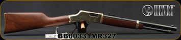"Henry - 327Mag- Big Boy Classic - Lever Action Carbine - American Walnut Stock/Brass Receiver/Blued, 16.5""Octagonal Barrel, 7 Round tubular magazine, Mfg# H006MR327, S/N BB00331MR327"