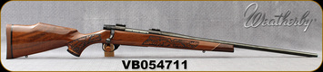 "Consign - Weatherby - 30-06Sprg - Vanguard Laserguard - Gloss Finish Walnut/Blued, 24""Barrel - Only 100 rounds fired"