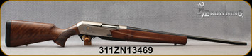 "Used - Browning - 270WSM - BAR MK3 - Semi-Auto Rifle - Grade II Turkish Walnut/Nickel Receiver/Polished Blued, 23""Barrel, 3 round detachable magazine, Mfg# 031047248, Demo Model - Unfired, in original box, c/w Weaver 30mm rings"