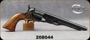 "Consign - Colt - 44Cap & Ball - Model 1860 Army Re-Issue - Black Powder - Walnut Grips/Blued, 8""Barrel - Unfired, In original box w/all documentation"