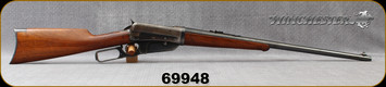 "Consign - Winchester - 30-06 - Model 1895 Takedown - Lever Action - Walnut stock/Blued, 24""Barrel - Manufactured in 1913"