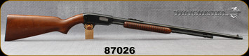 "Consign - Winchester - 22S/L/LR - Model 61 - Pump Action Rimfire Rifle - Walnut Stock/Blued, 24""Barrel - Manufactured in 1948"