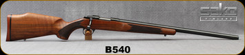 "Consign - Sako - 6PPC - Model A - Single Shot Bolt Action Rifle - Walnut Stock/Blued, 23.4""Sako Target Bull Barrel, Adjustable trigger"