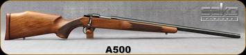 "Consign - Sako - 22PPC - Model A - Single Shot Bolt Action Rifle - Walnut Stock/Blued, 23.4""Sako Target Bull Barrel, Adjustable trigger BARREL HAS BEEN SHORTENED BY .5"""