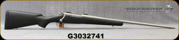 """Consign - Winchester - 325WSM - Model 70 Classic Super Grade - Black Textured Bell & Carlson Stock/Stainless, 24""""Barrel, Glass bedded, 2.2lbs trigger weight"""
