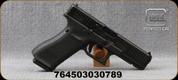"Glock - 9mm - G17 Gen5 - Semi-Auto - Black Finish w/Interchangeable Backstraps/nDLC Finish, 4.48""Glock Marksman Barrel, 3 Magazines, Fixed Sights, Mfg# PA175S201MOS"