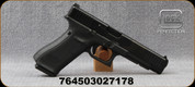 "Glock - 9mm - Model G34 Gen5MOS - Semi-Auto Pistol, Black Modular Grips w/interchangeable Backstrap, nDLC Finish, 5.31"" Barrel, 10 Rounds, White dot front sight, Adjustable White-Outline rear sight, Mfg# UA3430101MOS"