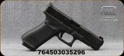 "Glock - 9mm - G17 Gen5MOS - Semi-Auto - Black Finish w/Interchangeable Backstraps/nDLC Finish, 4.49""Glock Marksman Barrel, 3 Magazines, AmeriGlo Bold Night Sights, Mfg# UA175S301MOSAB"