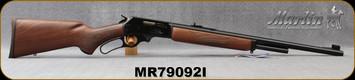 "Marlin - 444Marlin - Model 1895 444 - Lever Action - American black walnut stock with pistol grip/Polished Blued, 22""Barrel, Ballard Rifling, Mfg# 70540, S/N MR79092I"