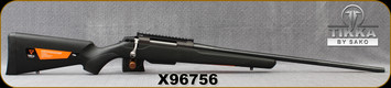 """Consign - Tikka - 270WSM - T3X Lite - Black Synthetic Stock/Blued, 24.3"""" Barrel - 3rd - Mfg# TF1T70LL103, Jard Target Trigger, 20MOA MDT Rail - Only 30 rounds fired - In original box"""