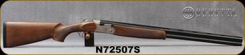 """Beretta - 12Ga/3""""/28"""" - Model 686 Silver Pigeon I - O/U - Walnut Stock/Engraved receiver/Blued Barrels, 6x6Rib, Mfg# 3W46P1L2AA311, S/N N72507S"""