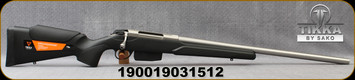 "Tikka - 243Win - T3x Stainless Varmint - Black modular synthetic stock/Satin Stainless, 23.7""Heavy Barrel, 5rd Magazine, Mfg# TFTT15CL105"