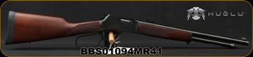 "Henry - 41Magnum - Big Boy Steel Carbine - Large Loop Lever Action Rifle -American Walnut Stock/Blued, 16.5"" Round Barrel, 7 Round Capacity, Steel Receiver, Mfg# H012MR41, S/N BBS01094MR41"