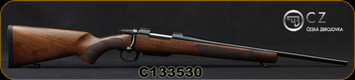 "CZ - 243Win - Model 557 Sporter - Bolt Action Rifle - Turkish Walnut Stock/Blued, 20.5""Barrel, 1:10""Twist, 4rd Detachable Magazine, Mfg# 5574-4902-SFABDAX, S/N C133530"