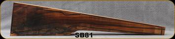 Stock Blank - Rifle Stock - Grade 3+ New Zealand Walnut - 688 - SB81