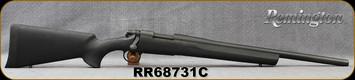 """Remington - 308Win - Model 700 SPS Tactical - Black Hogue Overmolded Stock/Black Oxide, 20""""Heavy Barrel, X-Mark Pro Adjustable Trigger system, Mfg# 84207 - In Allen Brown/Orange soft case"""
