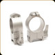 Warne - Maxima Series Steel Rings - Quick Detachable - 30mm - High - Silver - 215LS