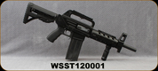 """Consign - Shooters Arms - 12Ga/12"""" - SAS-12 Tactical - Pump Action Shotgun - Black Fab Defense Butt Stock/Blued Barrel, (2) 6rd Detachable Magazines - Only 50 rounds fired - In Black Plano Gun Guard case"""