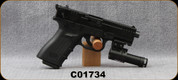 """Used - ISSC - 22LR - M22 - Semi-Auto Pistol - Black Polymer Grips/Blued, 4.375""""Barrel, Red Dot Laser, 2 magazines - in original case with manual, tool kit"""