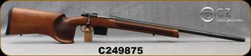 "CZ - 6.5Grendel - Model 527 MTR Varmint - Bolt Action Rifle - Turkish Walnut Target Stock/Blued, 25.5""Threaded Barrel, Detachable Magazine, Mfg# 5274-0826-TAAKAAX, S/N C249875"
