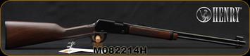 "Henry - 22WMR - Lever Action Rifle - Walnut Stock/Blued, 18.25"" Barrel, 11 Round Tubular Magazine, Mfg# H001M, S/N M082214H"