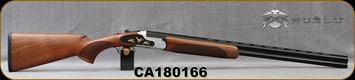 "Huglu - 20Ga/3""/28"" - 103F - O/U, Turkish Walnut/Black & Silver Reciever w/gold inlay birds/Blued Barrel, single trigger, 5pc. Mobile Choke, SKU# 8681744309035, S/N CA180166"