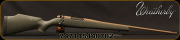 "Weatherby - 6.5RPM - Mark V Weathermark LT - Green w/FDE Speckle Monte Carlo Stock/FDE Cerakote, 24""#1MOD Contour Barrel (26""w/Accubrake ST), Mfg# MWL01N65RWR6B"