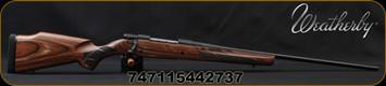 "Weatherby - 257WbyMag - Vanguard Laminate Sporter - Bolt Action Rifle - Brown Laminated Hardwood Stock/Blued, 26""#2 Contour Barrel, 3+1 Mag Capacity, Mfg# VLM257WR6O"