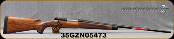 "Winchester - 264WM - Model 70 Super Grade AAA French - Bolt Action Rifle - Grade AAA French Walnut w/Shadowline cheekpiece/Polished Blued Finish, 26"" Barrel, 3 Round Hinged Floorplate, Adjustable Trigger, Mfg# 535239229, S/N 35GZN05473"