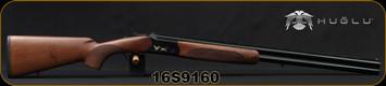 "Huglu - 12Ga/3""/28"" - 103C - O/U - Extractors - Turkish Walnut/Black Receiver w/Gold Inlaid Birds/Blued, 5pc. Mobile Choke, Sling Swivel Studs, Sku: 8681715390239, S/N 16S9160"