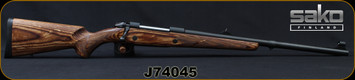 "Sako - 416Rigby - Model 85XL Brown Bear - Bolt Action Rifle - Brown Laminate Stock/Blued, 22""Barrel, 4rd capacity, Single Stage Trigger, 1:14""Twist, Mfg# SAY80ZM20, S/N J74045"