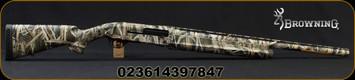 "Browning - 10Ga/3.5""/26"" - Gold Light 10 Gauge Field - Gas Operated Semi-Auto Shotgun - Mossy Oak Shadow Grass Blades Finish, Standard Invector Flush Chokes (F,M,IC) Mfg# 011287114"