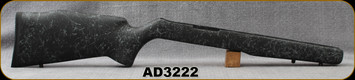 Bell and Carlson - Ruger 10/22 - Target/M40 Style - Heavy Barrel - Black w/Gray Spiderweb