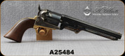 "Used - Uberti - 36Cal - Model 1851 Navy - Percussion Revolver, Engraved Cylinder, Walnut/Forged Steel and Case Hardened Finish, Blued, 7.5""Octagonal Barrel"