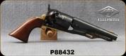 """Used - Pietta - 44Cal - Black Powder - Walnut Grips/Case Hardened Steel Frame/Brass Backstrap & Trigger Guard/Engraved Blued Cylinder/Blued, 5.5""""Barrel"""