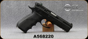 "Used - CZ - 40S&W - Model 75 SP-01 Tactical - Black Rubber Grips/Blued, 4.4""Barrel, c/w extra grips, (4)magazines, manual - in Black CZ Case"