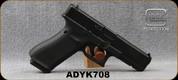 "Used - Glock - 9mm - G17 Gen5 - Semi-Auto - Black Finish w/Interchangeable Backstraps/nDLC Finish, 4.48""Glock Marksman Barrel, 3 Magazines, Fixed Sights, Mfg# UA175020 0982-0885 - In original case"