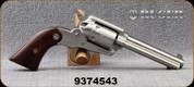 "Used - Ruger - 22LR - Bearcat - 6 round revolver - Walnut Grips/Engraved Cylinder/Stainless, 4.2""Barrel, Mfg# 0913 - In original case"