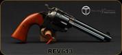 """Taylor's & Co - Uberti - 45Colt - 1873 Bisley - Revolver - Walnut Grips/Case Hardened Frame/Blued, 5.5""""Barrel, Mfg# REV613"""