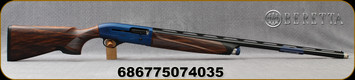 "Beretta - 12Ga/3""/30"" - A400 XCEL Sporting - Semi-Auto Shotgun - Walnut Stock/Blue Receiver/Steelium Barrel, Optimabore HP choke tubes, Beretta Micro-Core Recoil Pad, Mfg# 7D12311426010"